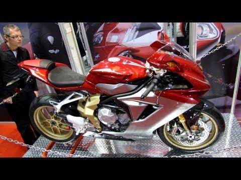 2013 MV Agusta F3 Serie Oro - Walkaround - Debut at 2012 Toronto Motorcycle Show