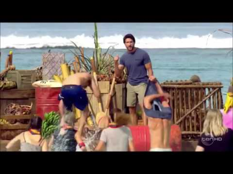 Australian Survivor S03E01 - First Reward Challenge: Race For Fire