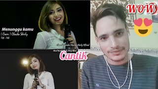 Download lagu Reacting to Menunggu kamu - Anji (cover Dangdut terkoplo) Chacha Sherly Reaction