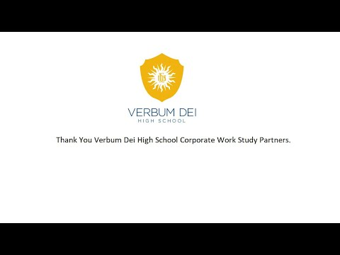 Verbum Dei High School: Thank You Corporate Partners