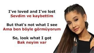 Ariana Grande Thank u Next Turkce ve Ingilizce Ceviri-Sozleri ( Lyrics ) - Subtitle
