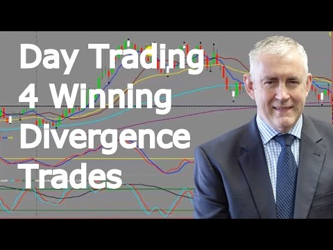 Day Trading 4 Winning Divergence Trades And Some Great Tips