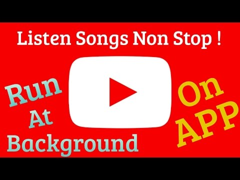 Listen Songs From Youtube App By Running it On Background | New Trick