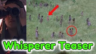 New Whisperers Tease For The Walking Dead Season 9! Tara Spotting Whisperers Breakdown!