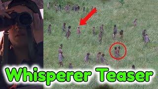 New Whisperers Tease For The Walking Dead Season 9! Tara Spotting Whisperers Breakdown!