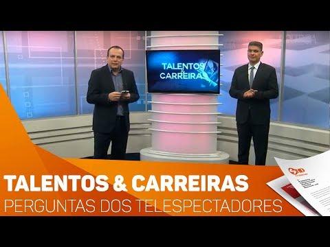 Talentos & Carreiras: Perguntas dos telespectadores - TV SOROCABA/SBT