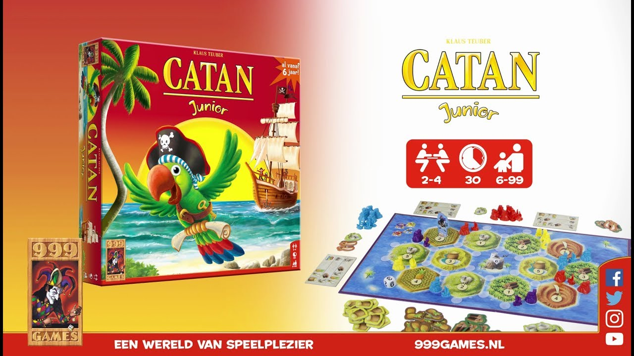 999 Games Catan Junior Trailer 999 Games