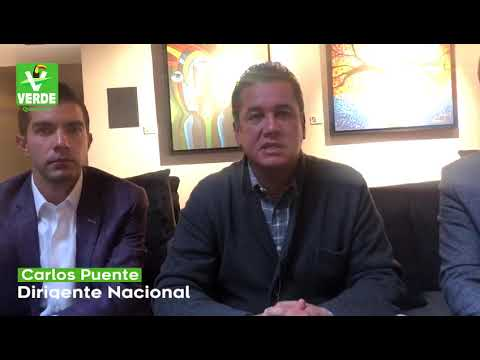 Contemplado Adolfo Ríos para Partido Verde en 2021