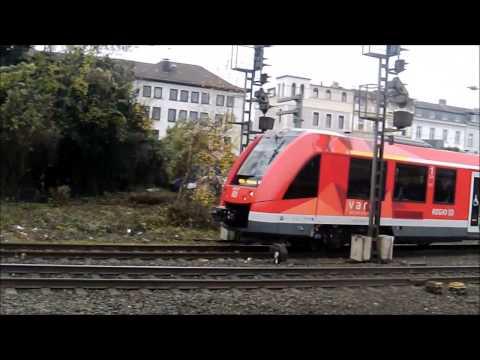 Trains at Bonn station