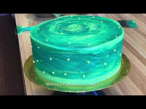*Rick & Morty Cake Timelapse* Ashley Shotwell Cakes