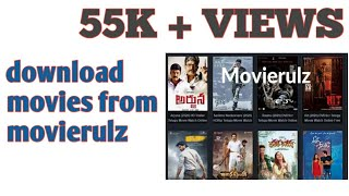 How to download latest movies from movierulz and u torrent