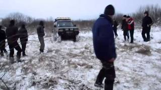 УАЗ и Mitsubishi Pajero  Рейд 'Танковый полигон'(, 2013-06-20T11:36:57.000Z)