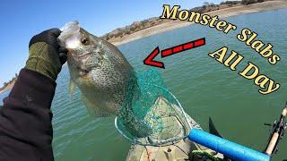 East Park Reservoir Fishing Hunting for Slabs
