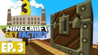 Minecraft Sky Factory 3 - MASSIVE CHEST! #3 [Modded Skyblock]