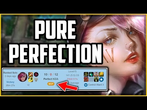 How To Play Vi Perfectly In 17 Minutes - Vi Jungle Guide Season 10 - League Of Legends
