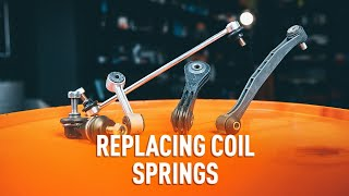 How to replace Anti roll bar stabiliser kit on - video tutorial