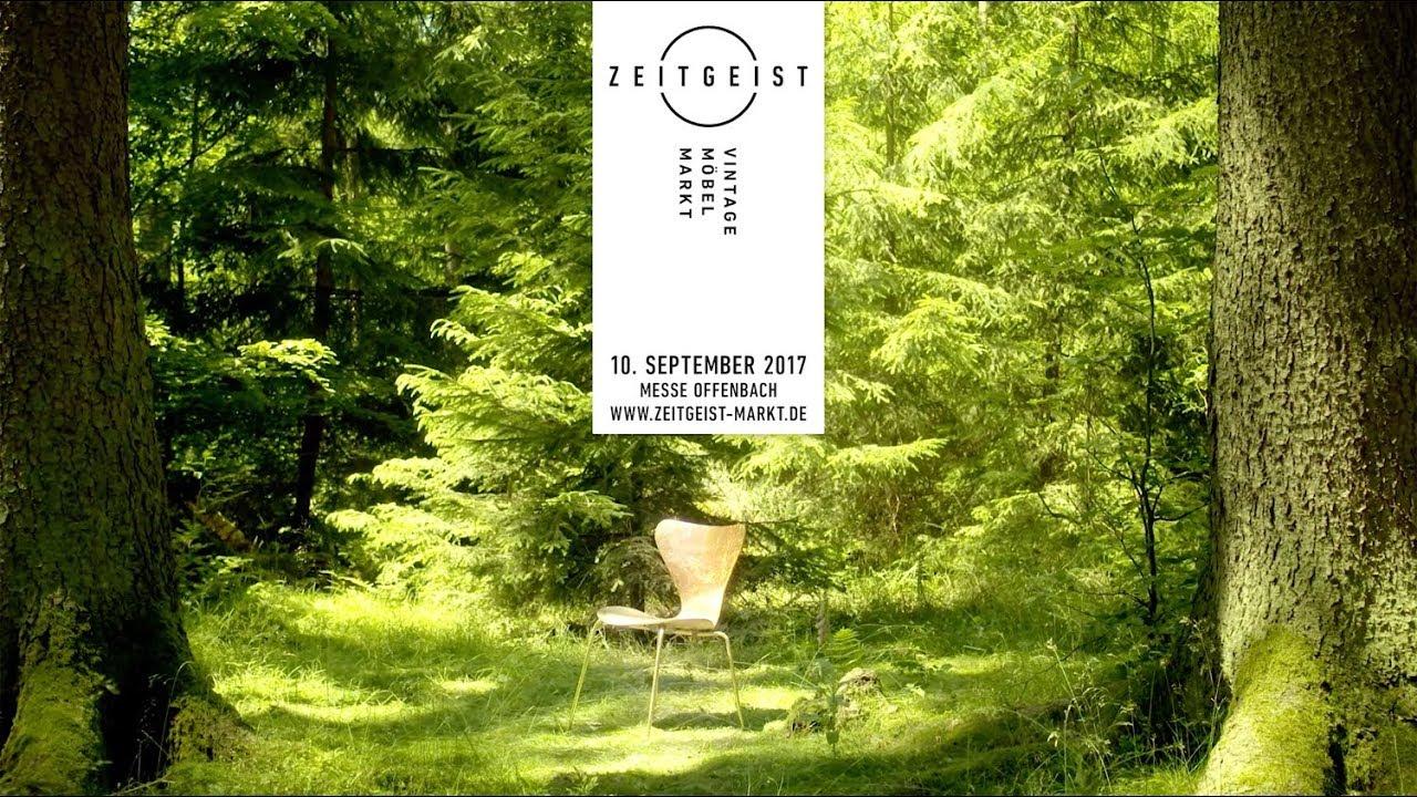 Zeitgeist Vintage Möbel Markt Urban Forest 10092017 Messe