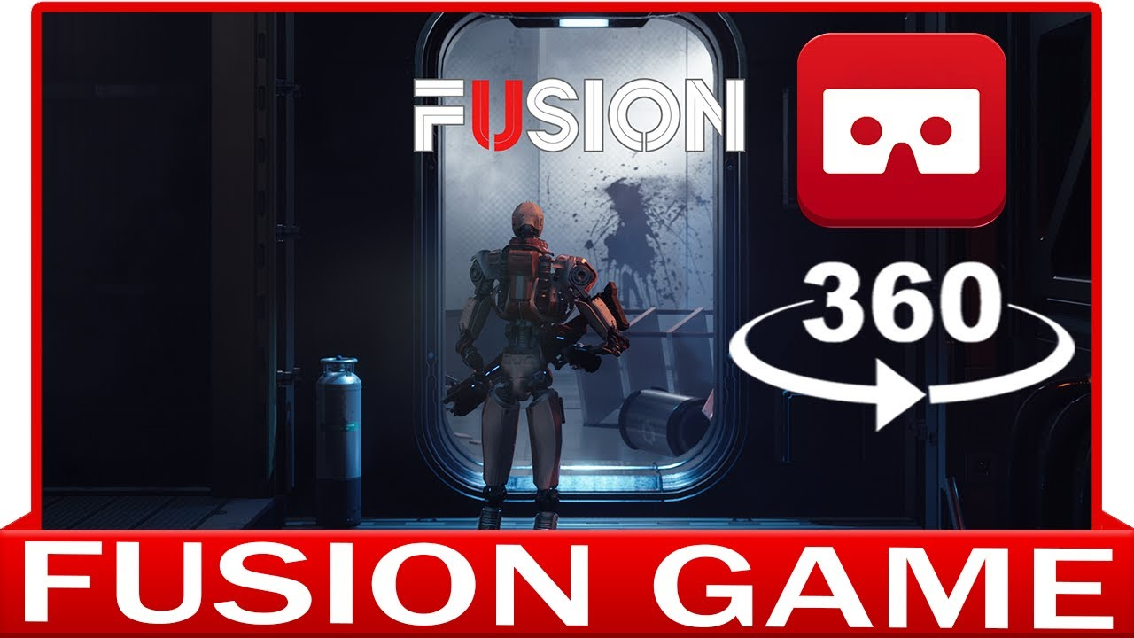 360° VR VIDEO - FUSION - GAMEPLAY - VIRTUAL REALITY 3D