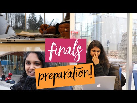 Final Exams Preparation   PG In CANADA #KeerthiVlogs