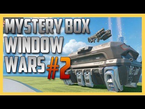 Mystery Box Window Wars #2 - Rockets, Death Machines, and... pistols.