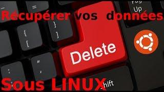 Récupérer vos données sous Linux (fichiers éffacés et partitions)