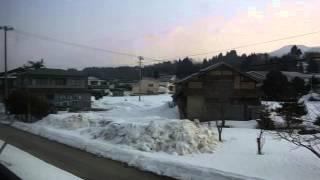 JR花輪線 八幡平〜陸中大里 側面展望