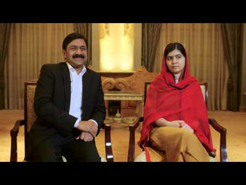 Exclusive Image Nation Interview with Malala and Ziauddin Yousafzai