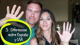 Diferencias entre España y Los Estados Unidos