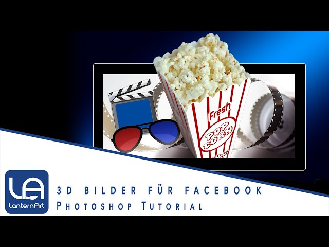 // PHOTOSHOP // FACEBOOK 3D EFFEKT // TUTORIAL //