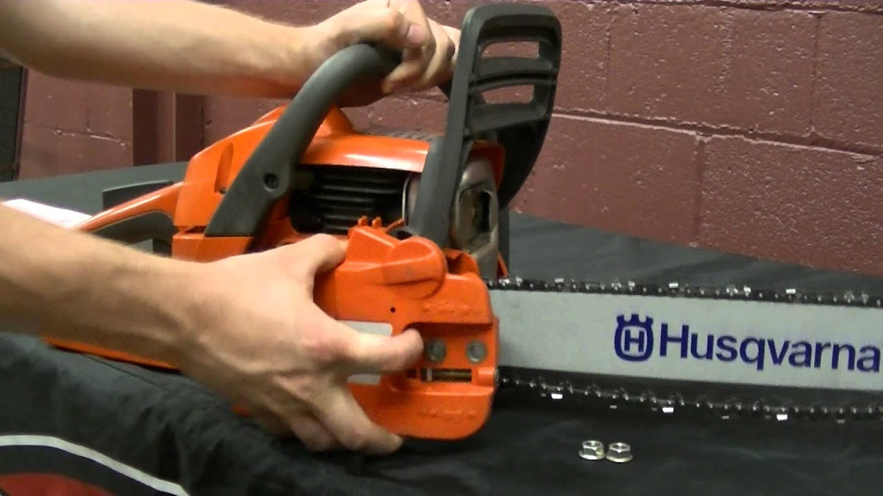 How to remove a chainsaw clutch cover and reset the chain brake how to remove a chainsaw clutch cover and reset the chain brake greentooth Images