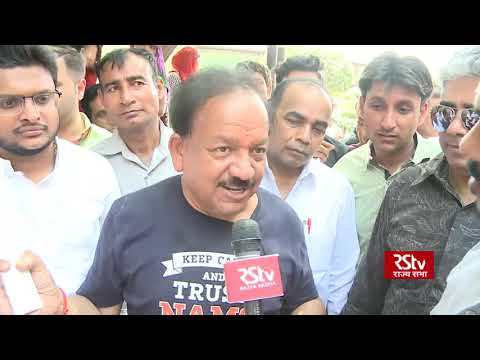 No contest from any other party, says Dr Harsh Vardhan, BJP candidate from Chandni Chowk