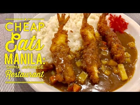 Cheap Eats Manila: Shima Japanese Restaurant Aguirre Avenue BF Homes Sucat