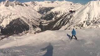 Skiing and Snowboarding Init - Chamonix-Mont Blanc, Feb 2013 (GoPro)