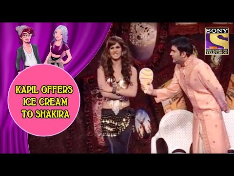 Kapil Offers Ice Cream To Shakira - Jodi Kamaal Ki