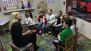 Уроки английского языка с детками 4-5 лет
