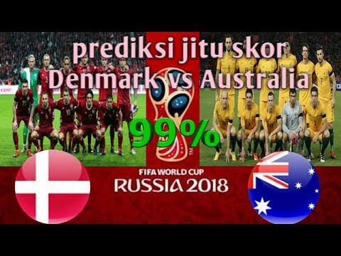 Prediksi jitu skor Denmark vs Australia