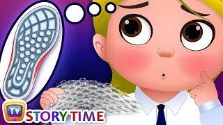 The Sensory Journey at School - ChuChuTV Storytime Good Habits Bedtime Stories for Kids