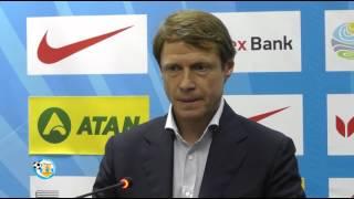 Прес-конференція О.Кононова після матчу з