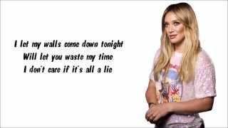 Hilary Duff - My Kind Karaoke / Instrumental with lyrics on screen