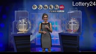 2018 08 22 Powerball Numbers and draw results