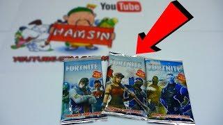 חבילות פורטנייט עם קלפים בלי דמויות