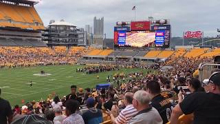 Video Tom Was Here - 2017 Pittsburgh Steelers Family Fest - Heinz Field download MP3, 3GP, MP4, WEBM, AVI, FLV Agustus 2018