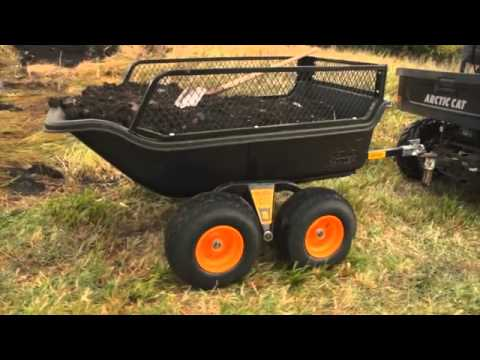 Atv Utility Carts For The Farm Polar Hd Youtube