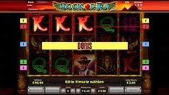 Amazing German penny slot machine Book of Ra Novomatic bonus round freespins