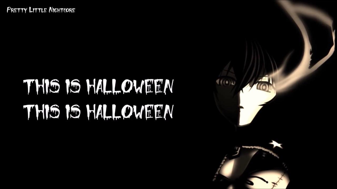 nightcore| this is halloween (with lyrics) - youtube