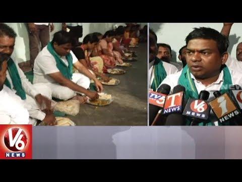 MLA Jeevan Reddy Participates In Palle Nidra Praja Darbar In Armoor Constituency | V6 News