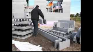 EPS CONSTRUCTION - Houses with walls of concrete and Styrofoam