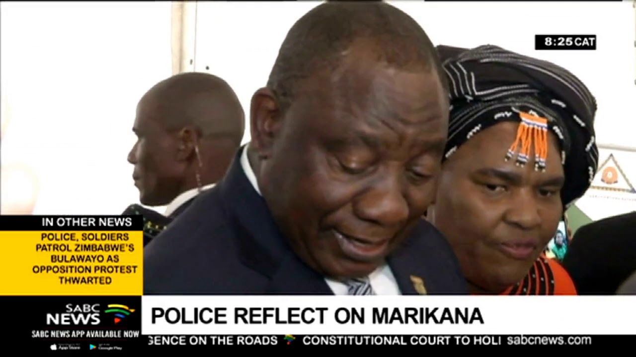 Police Minister Bheki Cele Reflects on Marikana: Part 1