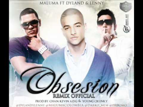 Obsesion - Maluma Ft Dyland & Lenny (Official Remix) New Estreno 2012
