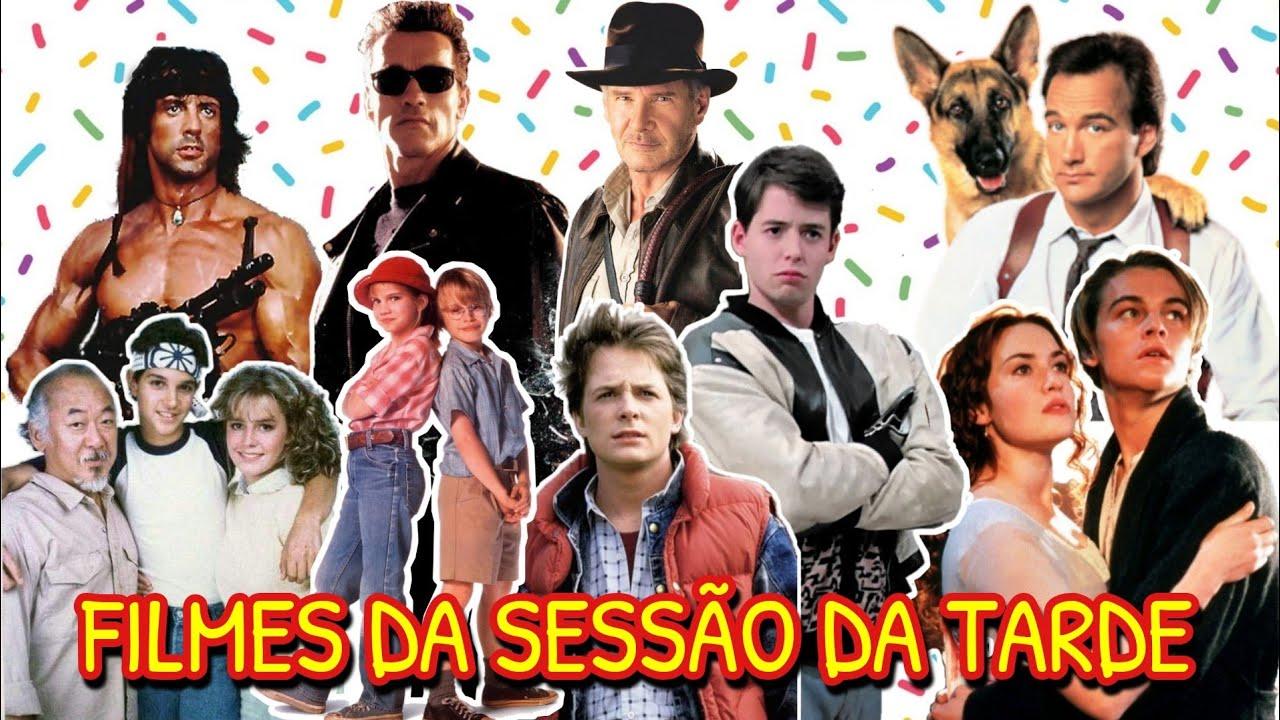 Os 50 Melhores Filmes Antigos Que Passaram Na Sessão Da Tarde Nos Anos 80 E 90 Na Rede Globo